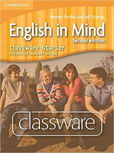 English in Mind 2Ed Starter Classware DVD-ROM murphy r english grammar in use 3rd edition classware for intermediate students of english dvd rom
