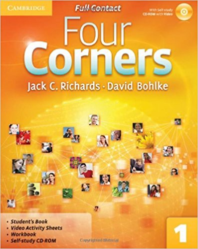 Four Corners 1 Full Contact with CD-ROM samuel rush meyrick full color knights and armor cd rom