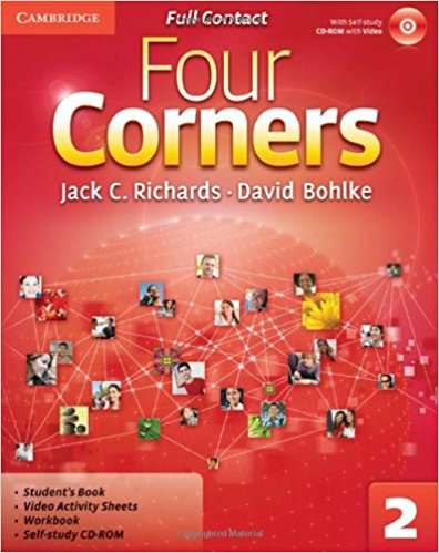 Four Corners 2 Full Contact with CD-ROM samuel rush meyrick full color knights and armor cd rom