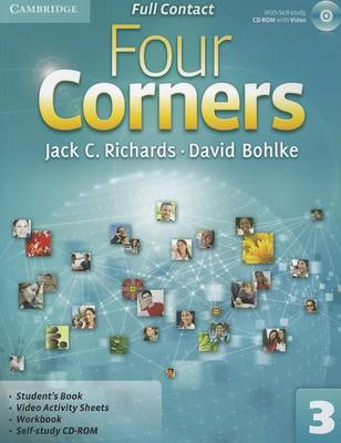 Four Corners 3 Full Contact with CD-ROM zhou jianzhong ред oriental patterns and palettes cd rom