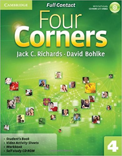 Four Corners 4 Full Contact with CD-ROM samuel rush meyrick full color knights and armor cd rom