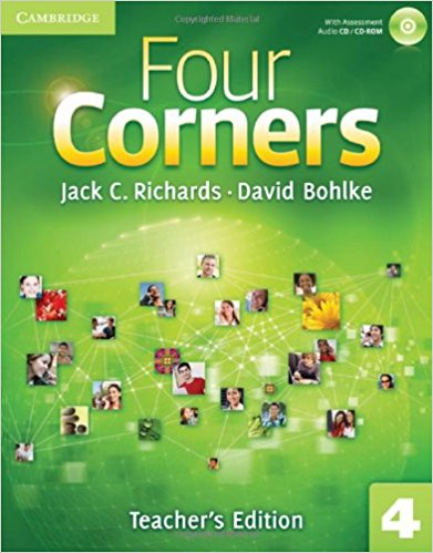 Four Corners 4 Teacher's Book with Assessment Audio CD/CDROM bowen m way ahead 4 pupils book cd rom pack