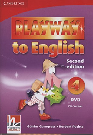 Playway to Eng New 2Ed 4 DVD PAL playway to english