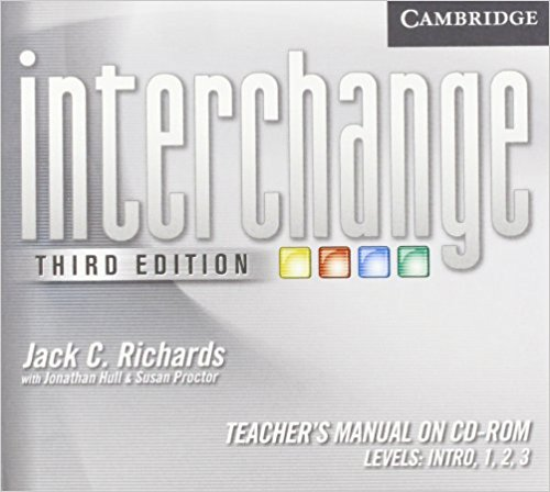 Interchange 3 Edition All levels Teacher's Manual on CD-ROM zhou jianzhong ред oriental patterns and palettes cd rom