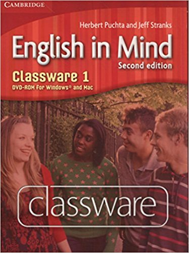 English in Mind 2 Edition 1 Classware DVD-ROM murphy r english grammar in use 3rd edition classware for intermediate students of english dvd rom