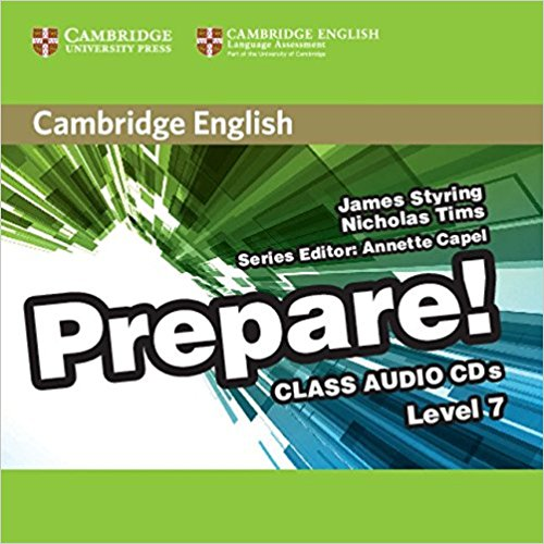Cambridge English Prepare! 7 Class Audio CDs cambridge english for schools in russia teacher s book four