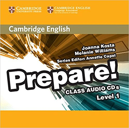 Cambridge English Prepare! 1 Class Audio CDs magica italia 1 teachers guide class audio cd