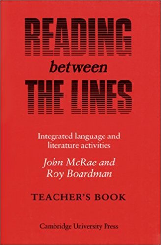 Reading Between the Lines Teacher's Book the stylistic identity of english literary texts