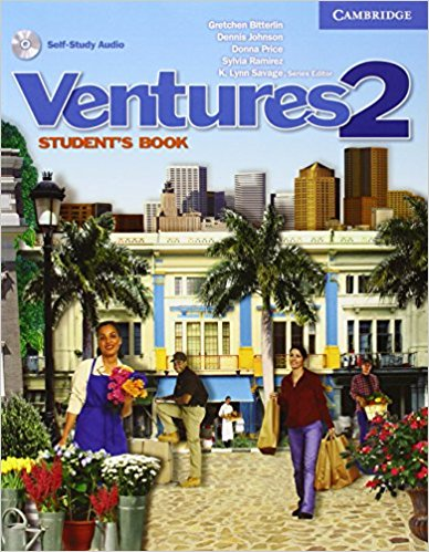 Ventures Level 2 Student's Book with Audio CD ventures 1 student s book with audio cd