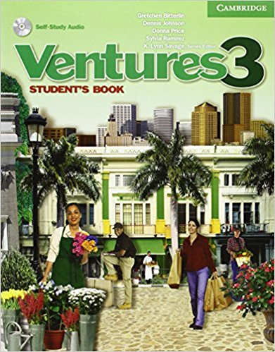Ventures 3 Student's Book with Audio CD agencia ele basico exercises book cd