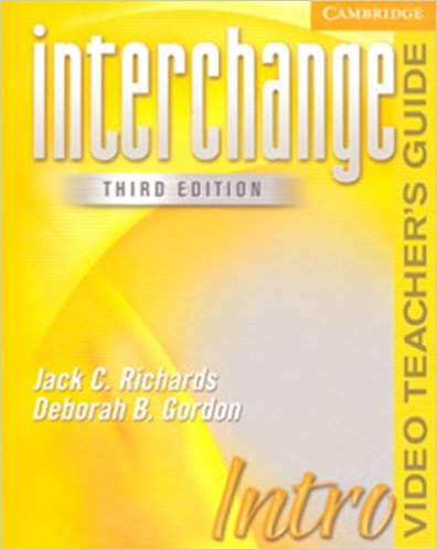 Interchange Intro Video Teacher's Guide 3rd Edition root and canal morphology of third molar