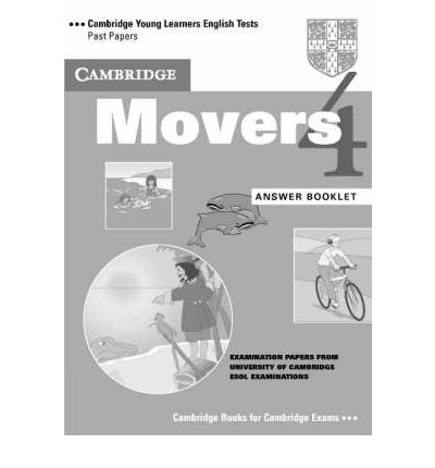 Cambridge Young LET 4 Movers Answer Booklet cambridge movers 1 answer booklet
