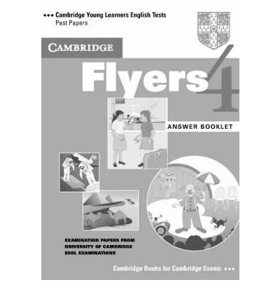Cambridge Young LET 4 Flyers Answer Booklet cambridge young learners english tests flyers 4 student s book