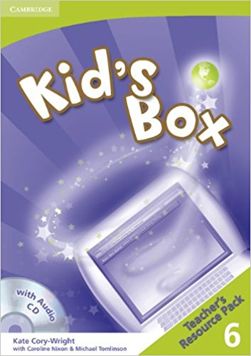 Kid's Box 6 Teacher's Resource Pack with Audio CD hot spot level 5 teachers book