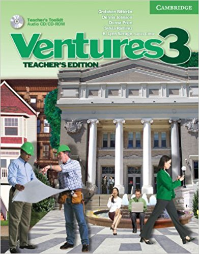 Ventures 3 Teacher's Edition with Teacher's Toolkit Audio CD/CD-ROM kid s box levels 1 2 tests cd rom and audio cd