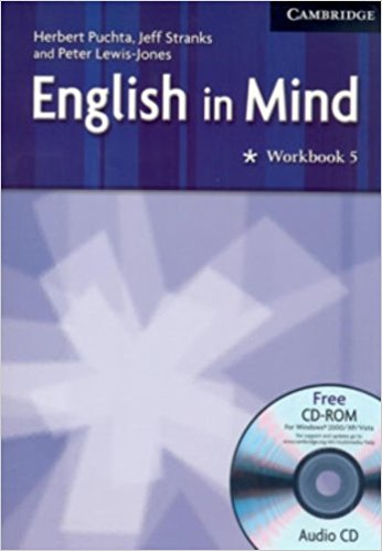 English in Mind Level 5 Workbook with Audio CD/CD-ROM understanding and using english grammar workbook