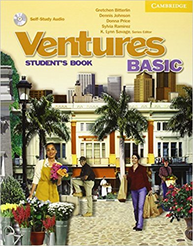 Ventures Basic Student's Book with Audio CD agencia ele basico exercises book cd