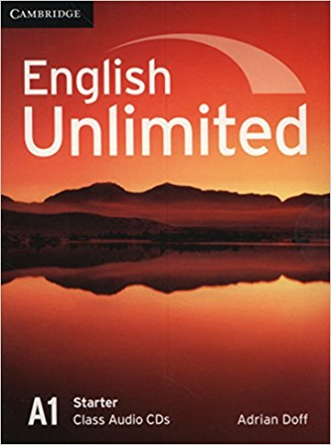 English Unlimited Starter Classass Audio CDs english unlimited a1 starter teacher s pack dvd rom