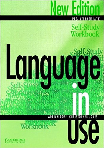 Language in Use Pre-Intermediate Self-study workbook roberts rachael sayer mike insight pre intermediate workbook