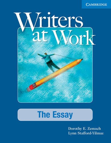 Writers At Work: The Essay SB And Writing Skills Inter Pack