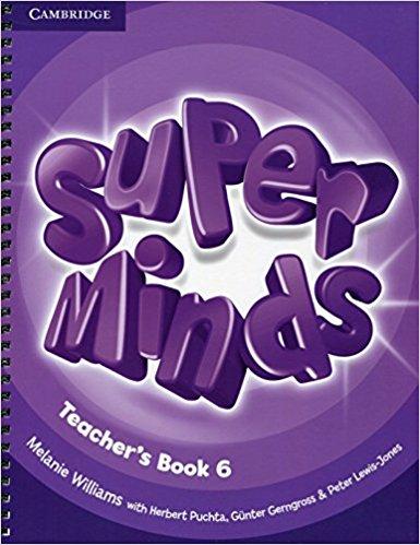 Super Minds 6 Teacher's Book super minds level 6 workbook with online resources