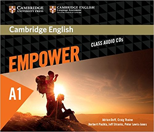 Cambridge English Empower Starter Class Audio CDs cambridge english empower upper intermediate student s book