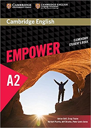 Cambridge English: Empower: Elementary Student's Book: Level A2 cambridge essential english dictionary second edition
