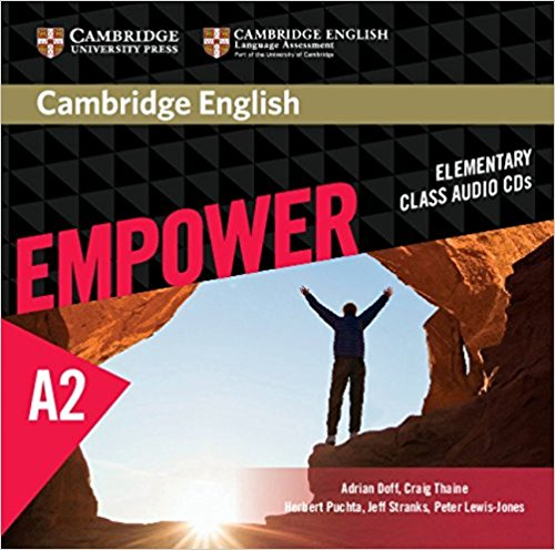 Cambridge English: Empower Elementary Class Audio (CD) 10pcs lot ti tpa6020a2 6020a2 qfn audio stereo full differential class ab amplifier