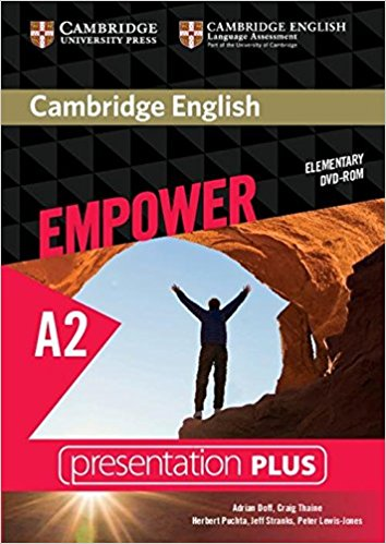 Cambridge English Empower Elementary Presentation Plus DVD-ROM driscoll l cambridge english skills real reading 3 with answers