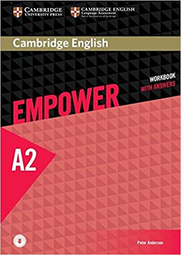 Cambridge English Empower A2: Workbook with Answers cambridge english empower elementary student s book