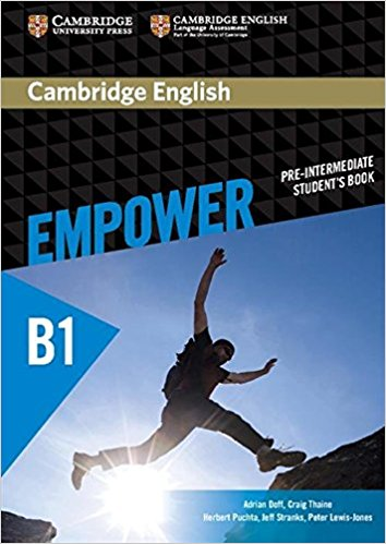Cambridge English: Empower: Pre-Intermediate: Student's Book cambridge english empower upper intermediate presentation plus dvd rom