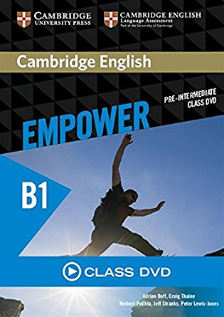 Cambridge English Empower Pre-Intermediate Class DVD total english pre intermediate students book dvd rom