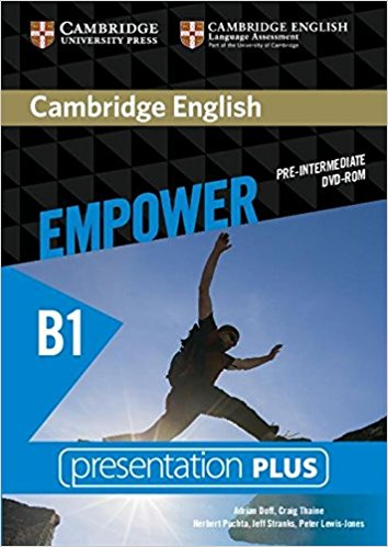 Cambridge English Empower Pre-Intermediate Presentation Plus DVD-ROM enterprise plus grammar book pre intermediate