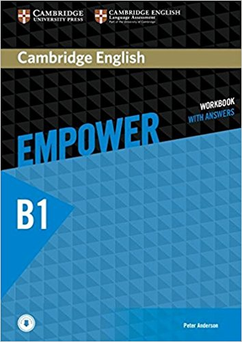 Cambridge English: Empower: Pre-Intermediate: Workbook with Answers: Level B1 cambridge english empower starter workbook no answers downloadable audio