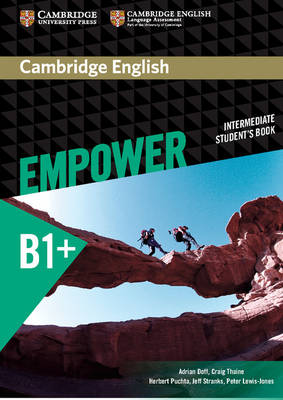 Cambridge English: Empower: Intermediate: Student's Book cambridge english empower upper intermediate student s book