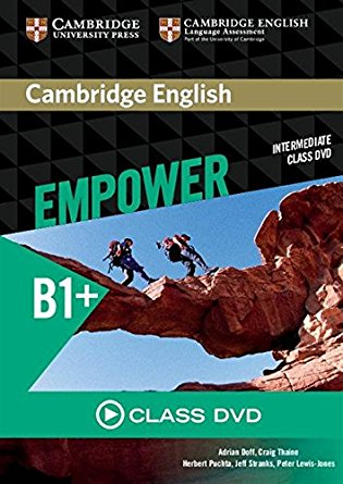 Cambridge English Empower Intermediate Class DVD driscoll l cambridge english skills real reading 3 with answers