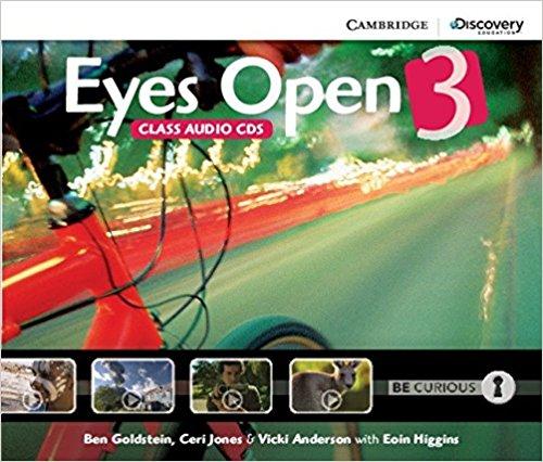 Eyes Open 3 Class Audio CDs eyes open 3 presentation plus dvd rom