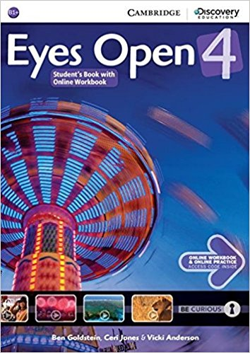 Eyes Open 4 Student's Book with Online Workbook and Online Practice eyes open level 1 student s book with online workbook and online practice