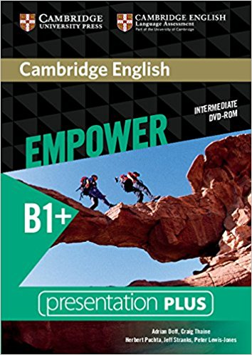 Cambridge English Empower Intermediate Presentation Plus DVD-ROM driscoll l cambridge english skills real reading 3 with answers