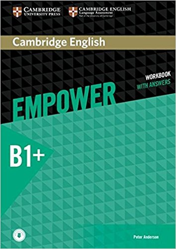 Cambridge English: Empower B+: Intermediate: Workbook with Answers with Audio CD new total english intermediate workbook with key cd