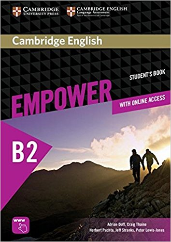 Empower B2: With Online Assessment: Student's Book сумка the cambridge satchel
