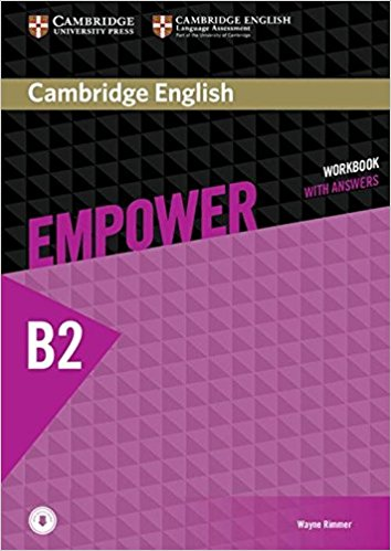 Cambridge English Empower Upper-Intermediate Workbook with Answers with Audio CD awful auntie