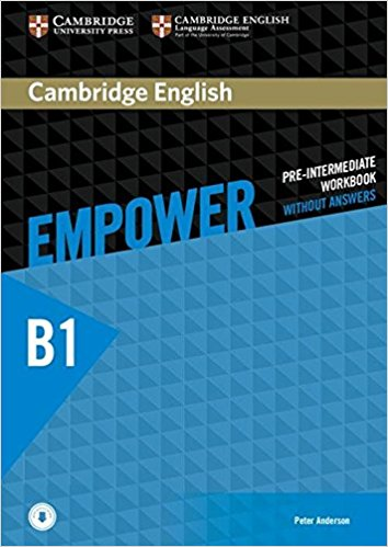 Cambridge English Empower Pre-Intermediate Workbook no Answers with Online Audio cambridge english empower elementary student s book