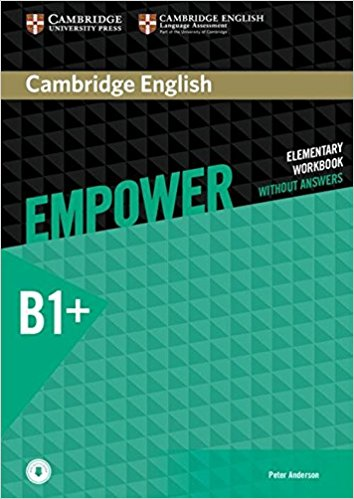 Cambridge English: Empower: Intermediate: Workbook without Answers (+ CD) cambridge english empower elementary student s book