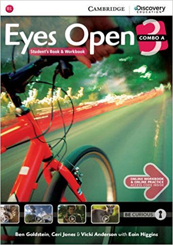 Eyes Open 3 Combo A with Online Workbook and Online Practice