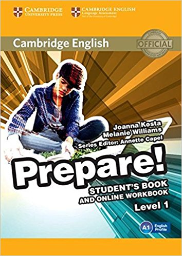 Cambridge English Prepare! 1 Student's Book with Online Workbook craven m cambridge english skills real listening