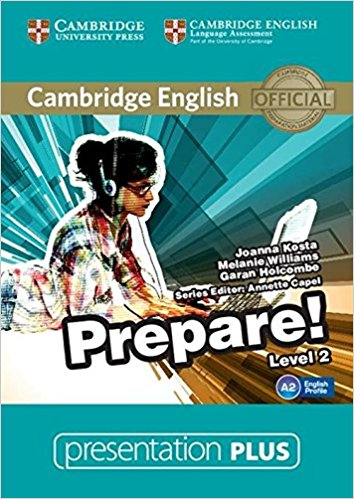 Cambridge English Prepare! 2 Presentation Plus DVD-ROM compact first for schools presentation plus dvd rom