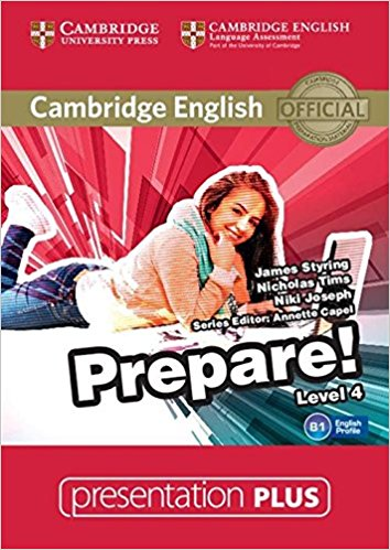 Cambridge English Prepare! Level 4: Presentation (+ DVD-ROM) think british english 2 presentation plus dvd rom