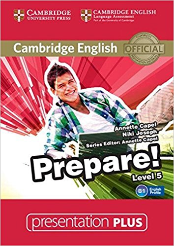Cambridge English Prepare! 5 Presentation Plus DVD-ROM cambridge english empower upper intermediate presentation plus dvd rom