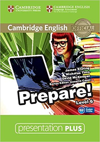 Cambridge English Prepare! 6 Presentation Plus DVD-ROM compact first for schools presentation plus dvd rom